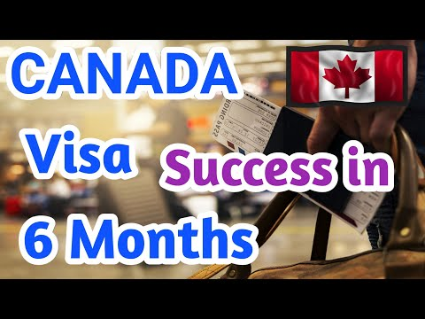 CANADA VISA Success in 6 Months   Visit to Work Visa in Canada   PixsTube