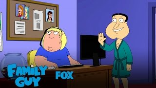 Chris Works As Quagmire's Assistant | Season 15 Ep. 1 | FAMILY GUY