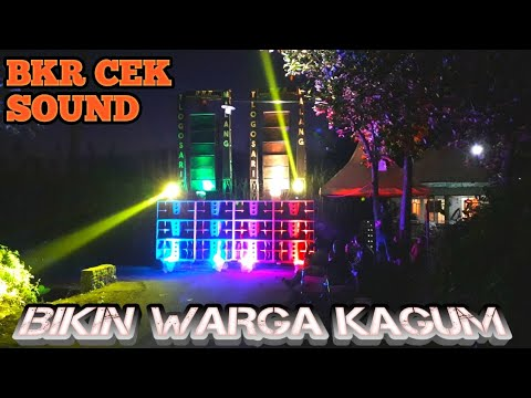 BKR Cek Sound Bikin Kagum Warga Di Tlogowaru Malang