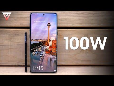 Samsung Galaxy Note 10 - 100W Fast Charging?