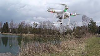 """""""Männerspielzeug"""" - Mit der Drohne DJI Phantom III beim Hechtfischen"""
