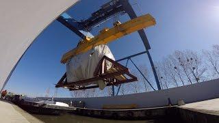 Turbina dla Elektrowni Opole przypłynęła Odrą