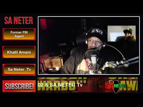 F.B.I Informant Comes Clean Live On Sa Neter Studio  Pt .1