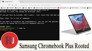 Samsung Chromebook Plus Developer Mode Root Access Tutorial