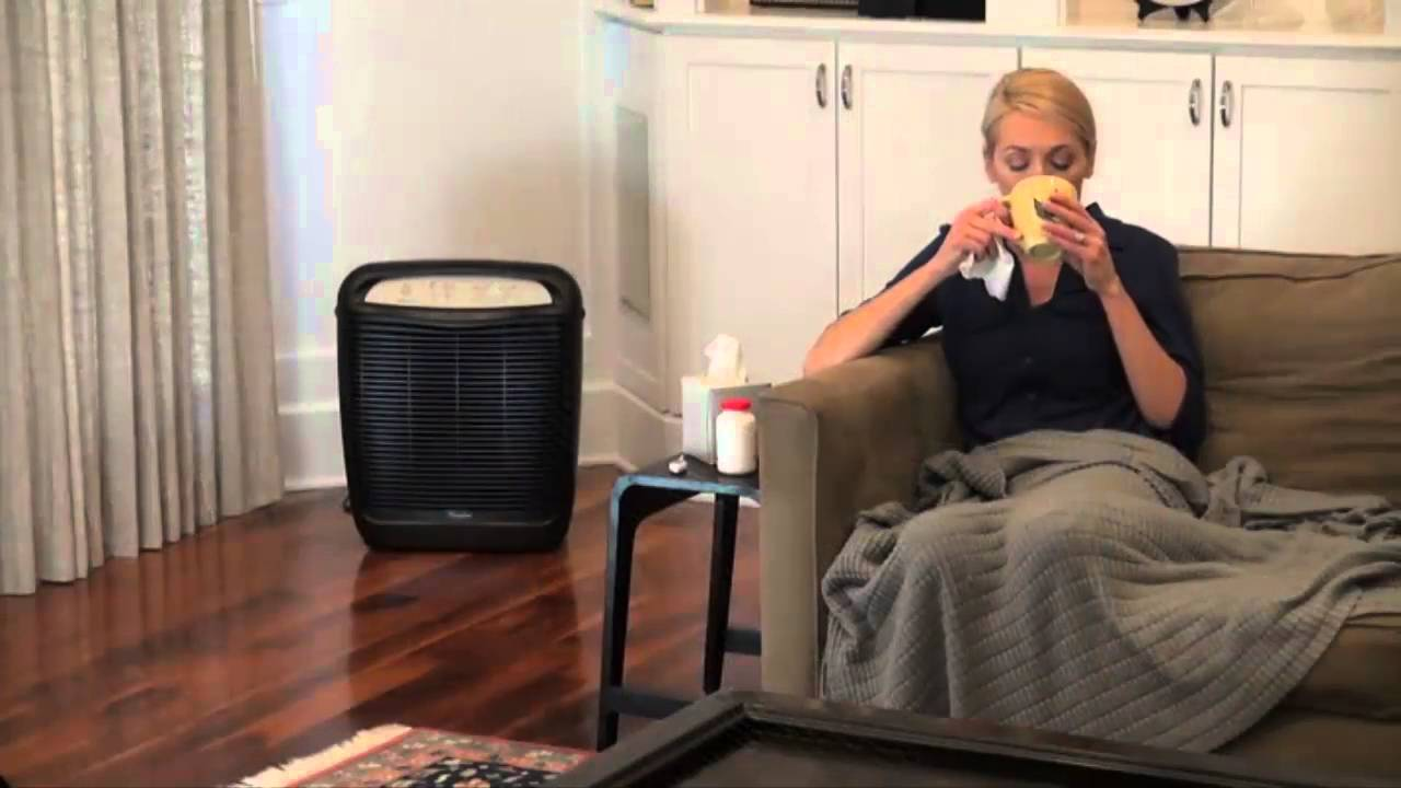whirlpool whispure air purifier hepa air cleaner ap51030k youtube