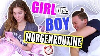 MORGENROUTINE Boy vs. Girl! Endlich ist Hendrik mit dabei! ♡ BarbaraSofie