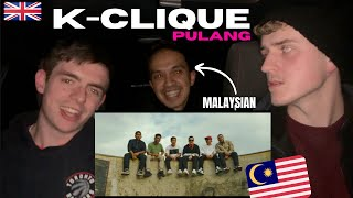 Download K-CLIQUE - PULANG (REACTING WITH A MALAYSIAN) | GILLTYYY REACT