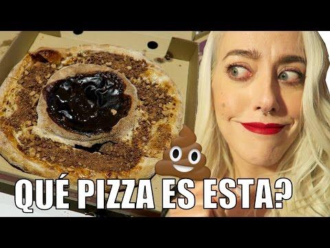 PROBAMOS LA PIZZA MÁS RARA DEL MUNDO!   Vlog diario EsbattTV