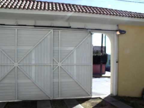 31 2 puertas corredizas opuestas operador de cadena youtube - Puertas para cocheras ...