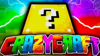 "Minecraft CRAZY CRAFT 3.0 #7 ""LUCKY BLOCK CRAZINESS!"" (Pandora's Box, Lucky Block, Princess?!)"