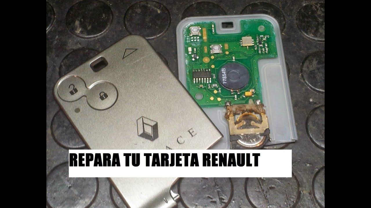 Reparar Tarjeta Renault Boton No Funciona Laguna Megane