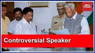Controversial BJP MLA KG Bopaiah Chosen As Pro-Tem Speaker By Karnataka Governor