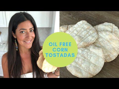 Oil Free Corn Tostadas/ Corn Tortilla Chips