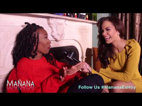 Shoe Designer Meeya Thomas - Fashion Segment - Mañana es Hoy Show