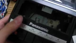 Panasonic RQ 2104 Portable Cassette Recorder Overview
