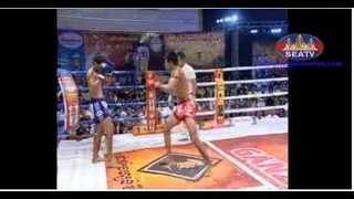 Khmer Boxing | International Boxing vs Khmer | SEATV 12 August 2014