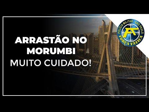 ARRASTÃO NO MORUMBI - MUITO CUIDADO