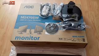 monitor AOC M2470SW Full HD