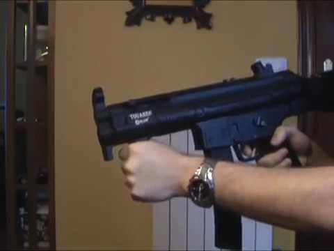 MP5 Kurusıkı Tabanca Tam Otomatik Seri Atış, Ses Tabancası