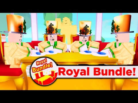 ROYAL *UPDATE* R$ 5000 VIP'S!? Roblox MY RESTAURANT!