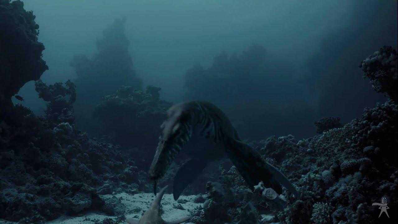 Морские динозавры видео ввс