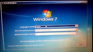 How To Install Windows 7 FULL