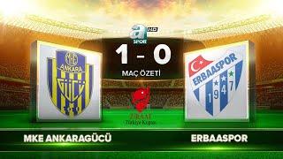 MKE Ankaragücü 1-0 Erbaaspor | Maç Özeti
