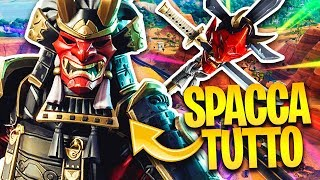 SPACCO ALL WITH THE SKIN JAPANESE OF SHOGUN! Fortnite Battle Royale