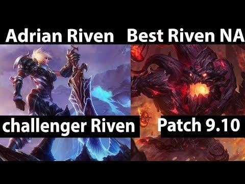 [ Adrian Riven ] Riven vs Maokai [ Best Riven NA ] Top  - Adrian Riven Stream Patch 9.10