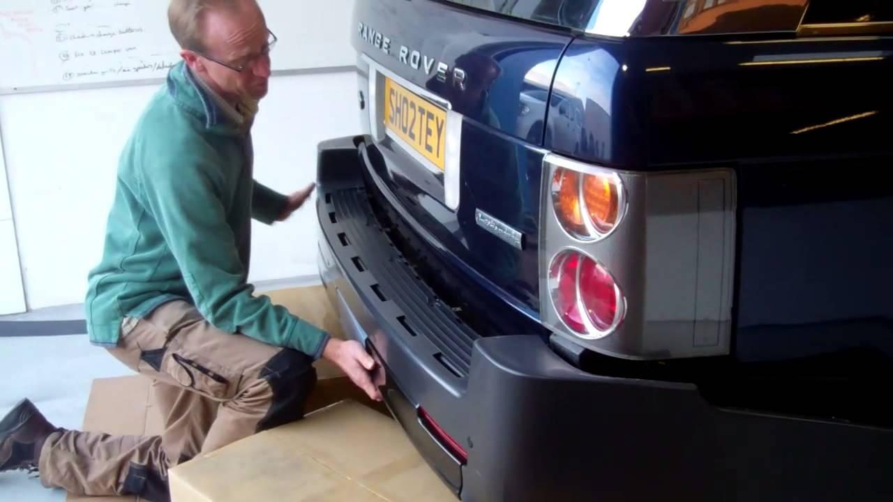 Range Rover L322 Rear Bumper Design Pack + Exhaust fitting - Part 2