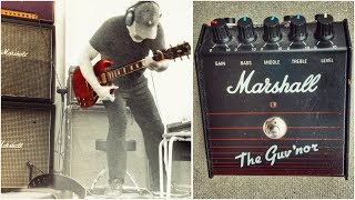 The Marshall Guv'nor Mark 1 - KILLS most BOUTIQUE pedals!