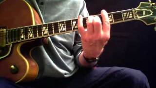 Walking Bass w/Chords - Guitar Lesson by Mark Stefani