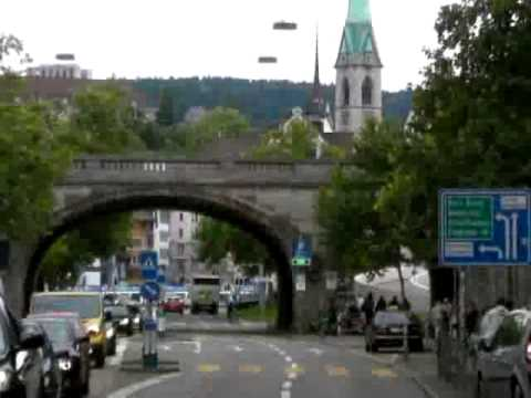Interactive video of Zurich