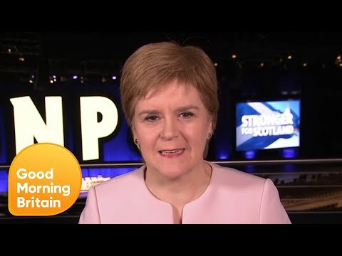 Nicola Sturgeon to Request Another Scottish Independence 'Within Weeks' | Good Morning Britain