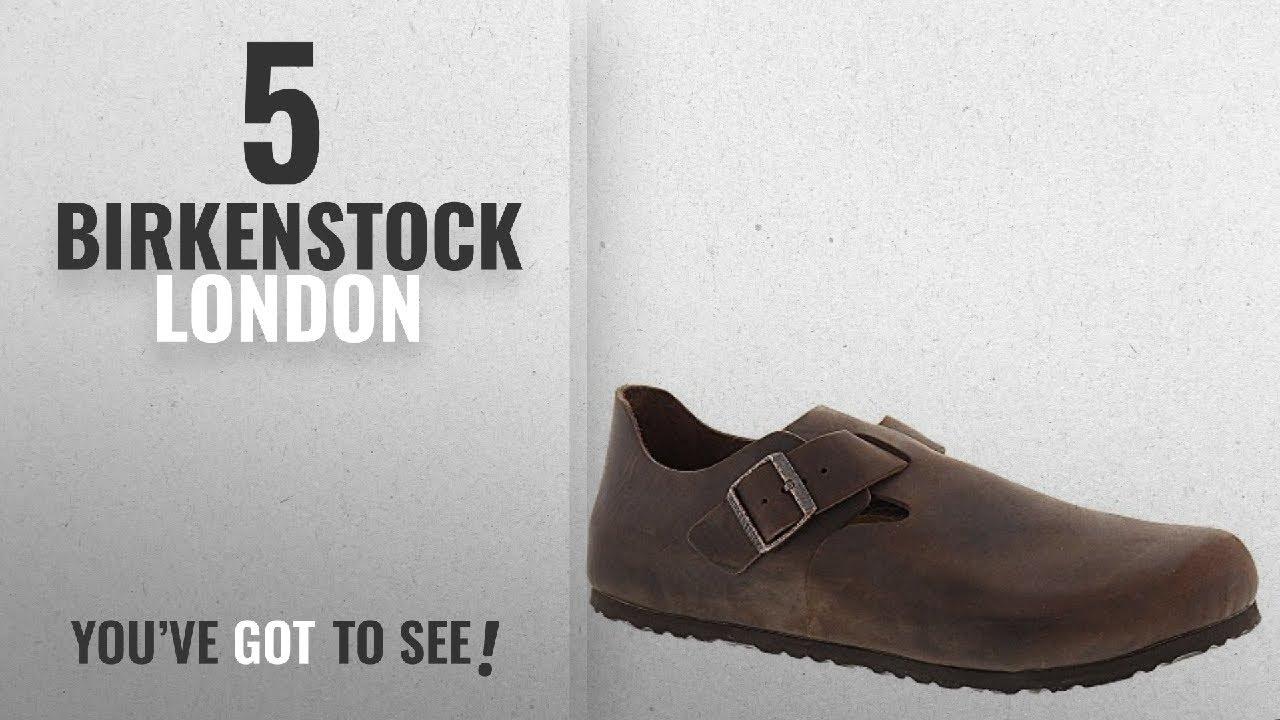 395ef99a5f92 Top 5 Birkenstock London  2018   Birkenstock Unisex London Habana Oiled  Leather 43 R (US Men s. Women s ...