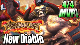 HOTS Diablo Rework Game 4/4   *New* Diablo MVP Gameplay! Diablo Got ((BUFFED))! Diablo Best Build!