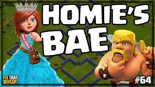 Do YOU Know HOMIE'S BAE in Clash of Clans? Fix That Rush #64