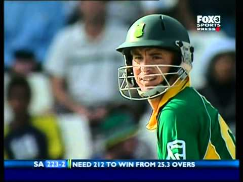 Michael Hussey talks about 2006 one day game Australia Vs South Africa