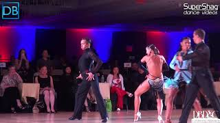 Part 4! Approach the Bar with DanceBeat! Manhattan 2018! Pro Latin! Ilya and Polina!