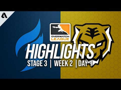 Dallas Fuel vs Seoul Dynasty | Overwatch League Highlights OWL Stage 3 Week 2 Day 1
