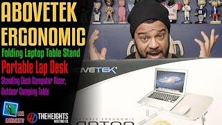 #AboveTEK Folding Laptop Table Stand : #LGTV Review