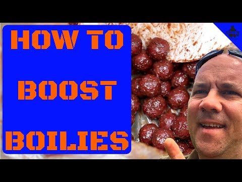 CARP FISHING - HOW TO BOOST YOUR BOILIES 😀