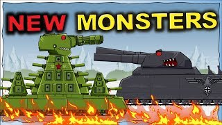 New Monsters 2020 - Dibujos animados sobre tanques