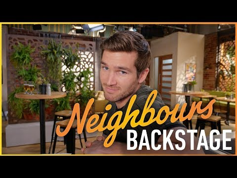 Ben Hall (Ned) & Bonnie Anderson (Bea) - Neighbours Backstage