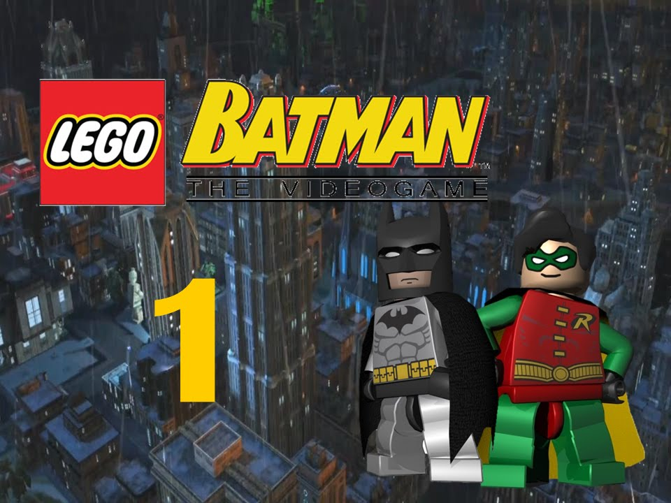 Let's Play! Lego Batman: The Video Game- Heroes Part 1 ...
