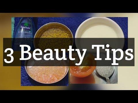 3 Beauty Tips For Face Glowblack Neckhair Growth In Telugu    Home Minister  Beauty Tips