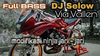 Story Wa Kekinian Versi Drag Bike | DJ Selow - Via Vallen Full Bass | Modifikasi Ninja Jari - Jari