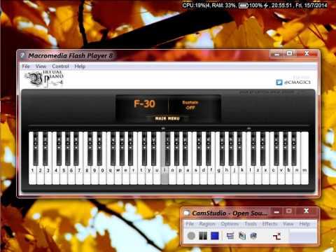 [Virtual Piano] - Hoàn Châu Công Chúa