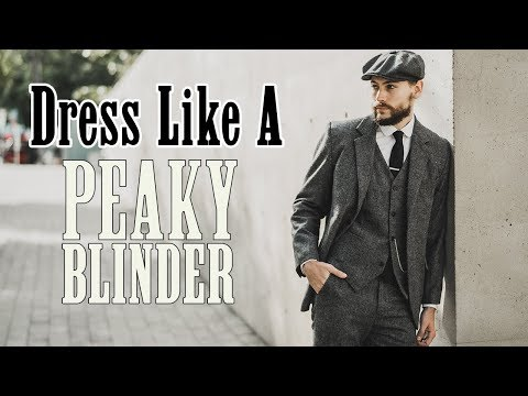 Peaky Blinders Inspired Outfit | How To Dress Like Tommy Shelby