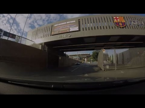 [Roadtrip 2 #24 - Spain] A drive in Barcelona #1